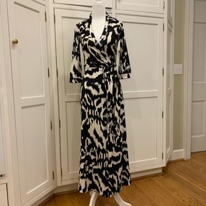 DVF Abigail Maxi Wrap Dress